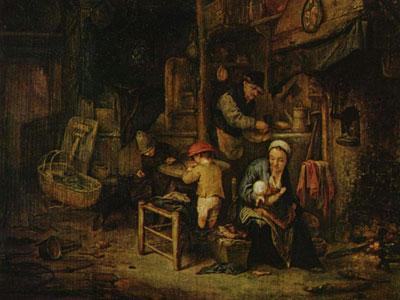 Перейти на Interior With A Peasant Family