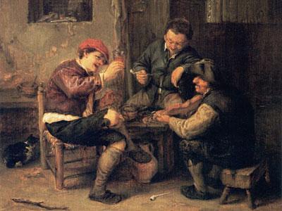 Перейти на Three Peasants At An Inn