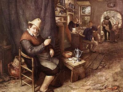 Перейти на Drinking Peasant In An Inn