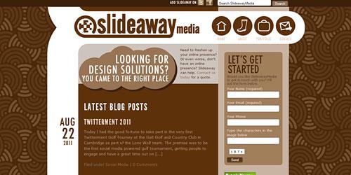 Перейти на Slide Away