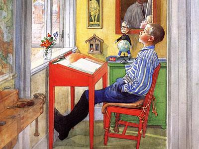 Перейти на Esbjorn Doing His Homework