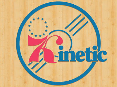 Kinetic 76ers Tribute Logo