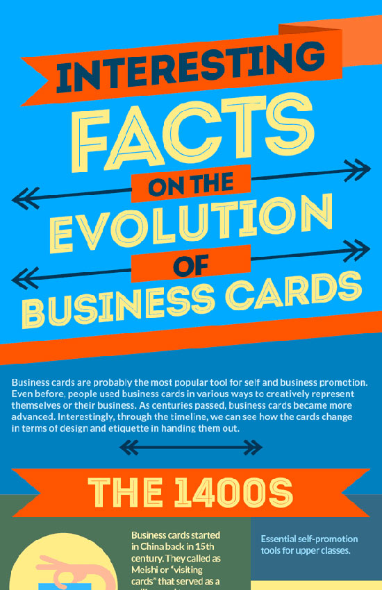 Перейти на Interesting Facts On The Evolution Of Business Cards