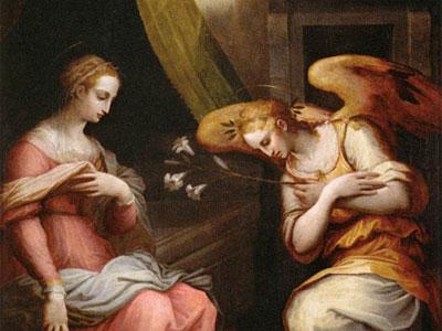 Перейти на The Annunciation