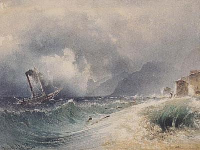 Перейти на Storm On Lake Garda