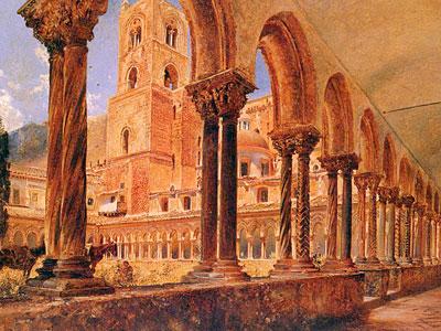 Перейти на A View Of Monreale Above Palermo