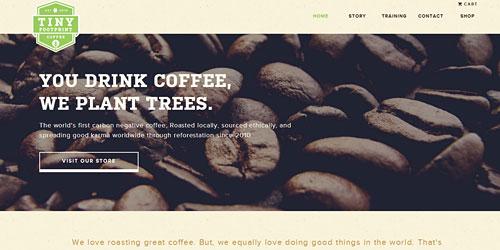 Перейти на Tiny Foot Print Coffee