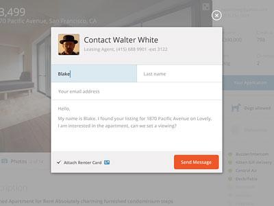 Contact Modal