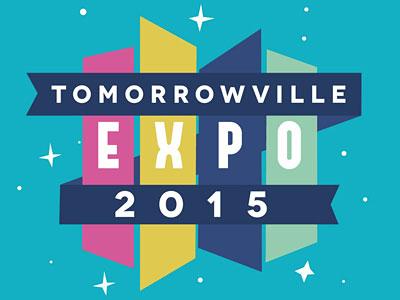 Tomorrowville Expo 2015 Logo