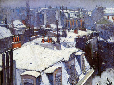 Перейти на View Of Roofs Snow Effect Or Roofs Under Snow