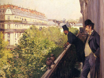 Перейти на A Balcony Boulevard Haussmann