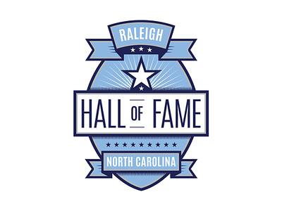 Raleigh Hall of fame Logo