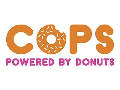 Dunkin/Cops logo