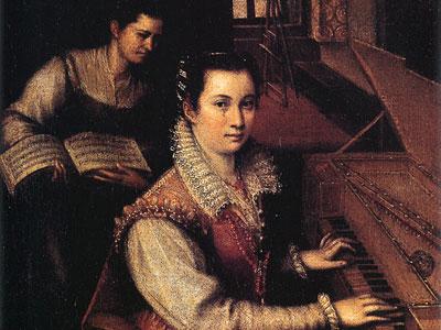 Перейти на Self Portrait At The Clavichord With A Servant
