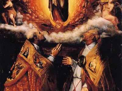 Перейти на Assumption Of The Virgin With Saints Peter Chrysologus And Cassian