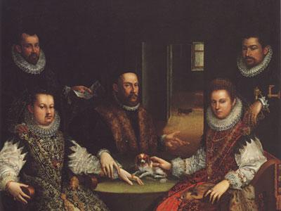 Перейти на Portrait Of The Coozzadini Family