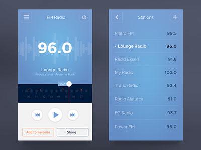 Fm Radio Ui