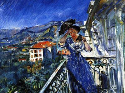 Перейти на On The Balcony In Bordighera