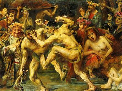 Перейти на Odysseus Fighting With The Beggar