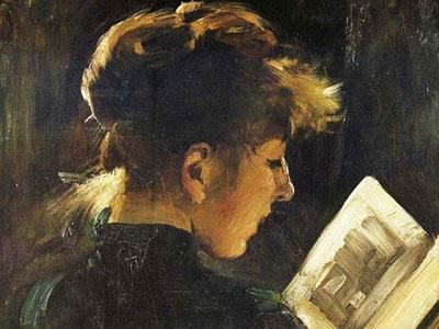 Перейти на Reading Woman
