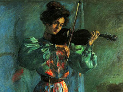 Перейти на The Violinist