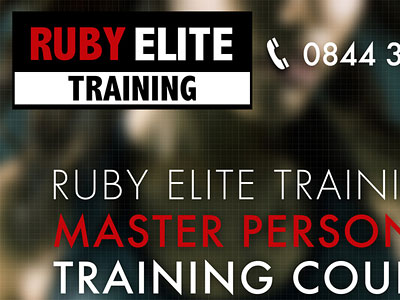 Перейти на Ruby Elite Training Poster