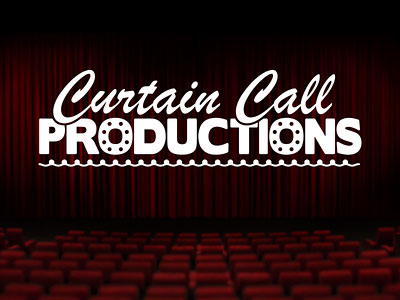 Перейти на Curtain Call Productions Logo