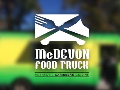 Перейти на Food Truck Logo Concept