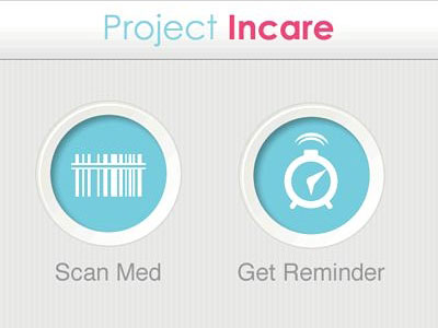 Перейти на InCare Phone App Main