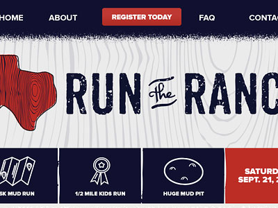 Перейти на Run The Ranch Site