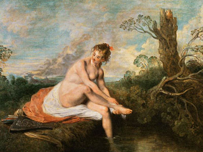 Перейти на Diana At Her Bath