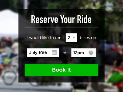Reserve Your Ride