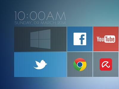Windows 9 Concept