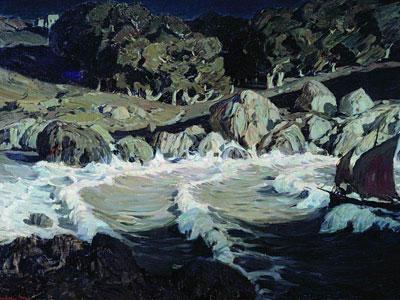 Перейти на Ночь у моря