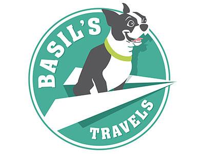 Basil's Travels logo