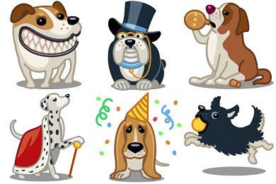 Перейти на Tailwaggers Icons by Iconka.com (24 icons)