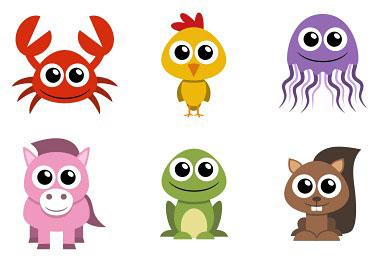 Перейти на Animal Icons by AdorableToon (40 icons)