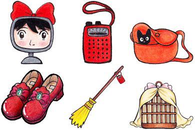 Перейти на Kiki's Delivery Service Icons by Kirei-Kaze (14 icons)