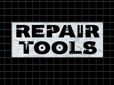Repair Tools Lettering