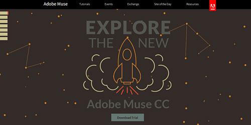 Перейти на muse.adobe.com