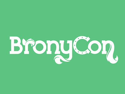 Bronycon Wordmark