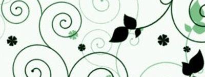 Скачать Floral Swirls Brushes By Szuia