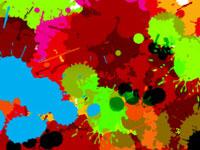 Скачать 14 наборов кистей для создания какофонии из цветных клякс