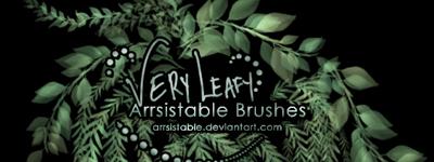 Скачать Very Leafy Brushes By Arrsistable