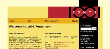 Перейти на1001 Fonts