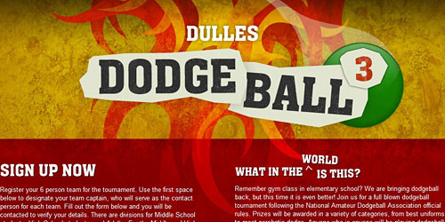 Перейти на Dulles Dodge Ball