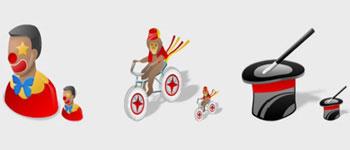 Скачать Circus Icons