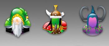 Скачать Warcraft Sigma Style Icons