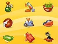 Скачать 27 наборов иконок с изображениями предметов и смешных человечков