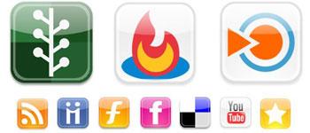 Скачать Web 2 Icons